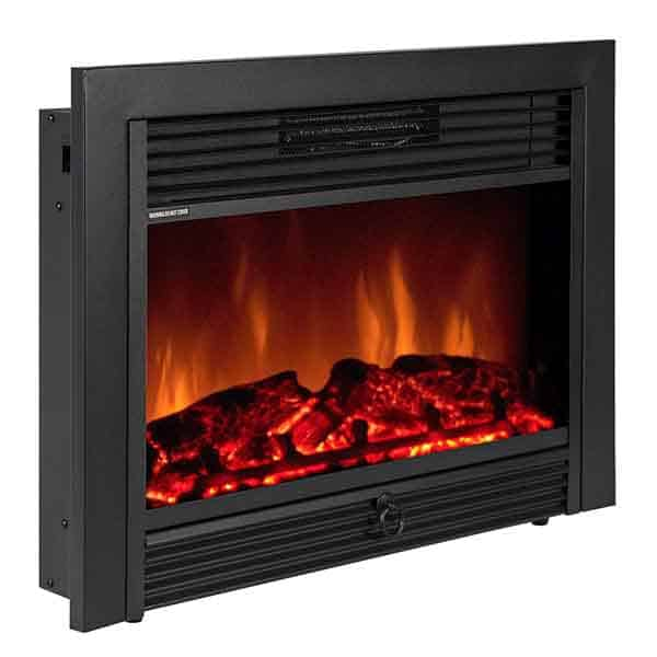 """Best Choice Products 28.5"""" Insert Electric Adjustable Fireplace"""