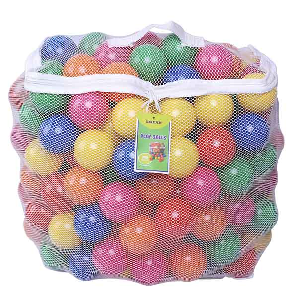 Click N' Play Pack Of 200 Phthalate Free BPA Free Crush Proof Pit Balls