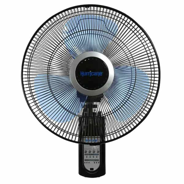 Hurricane 736565 Fan Super 8 Oscillating 16-Inch Wall