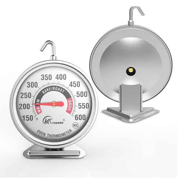 """KT Thermo Large 3"""" Dial Oven Thermometer"""