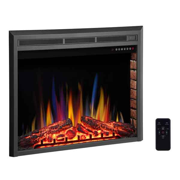 """R.W. FLAME 36"""" Electric Fireplace Insert"""