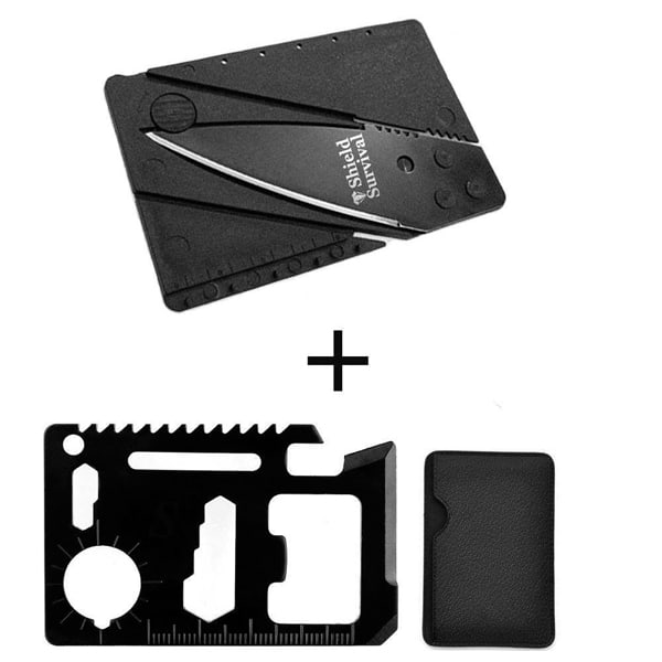 ShieldSurvival Credit Card Size Tool And Knife