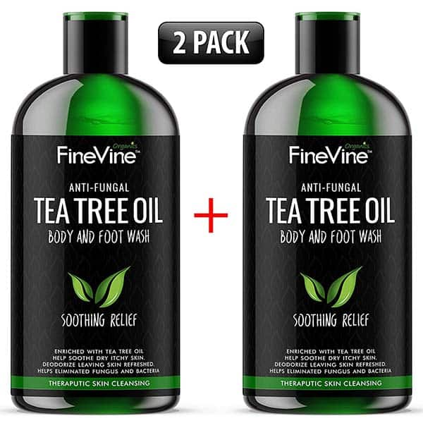 FineVine 100% Natural Tea Tree Body Wash