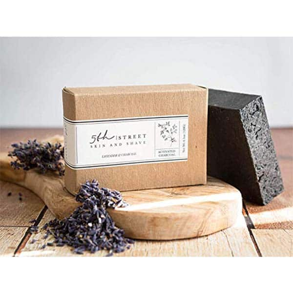 5th Street Skin & Shave Activated Charcoal Soap Bar