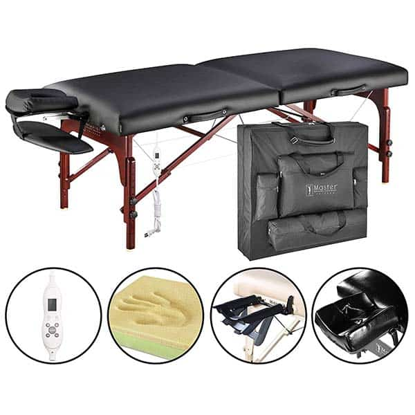 Master Massage Montclair Therma Top Portable Massage Table Package