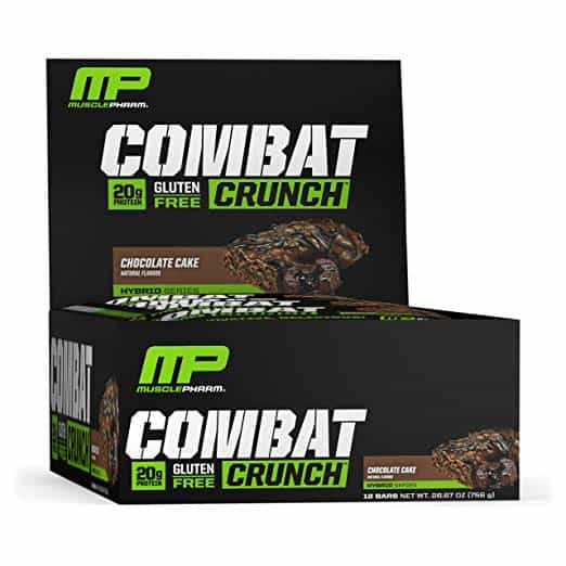 Musclepharm Combat Crunch Protein Bar Review_