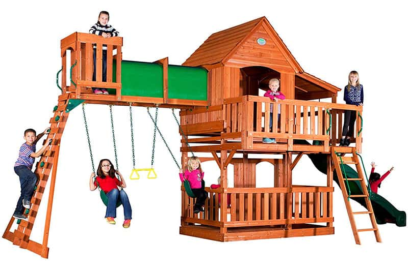 Backyard Discovery Woodridge II Swing Set Review