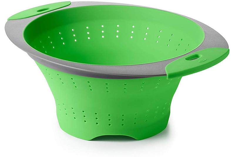 OXO Good Grips Silicone Collapsible Colander Review