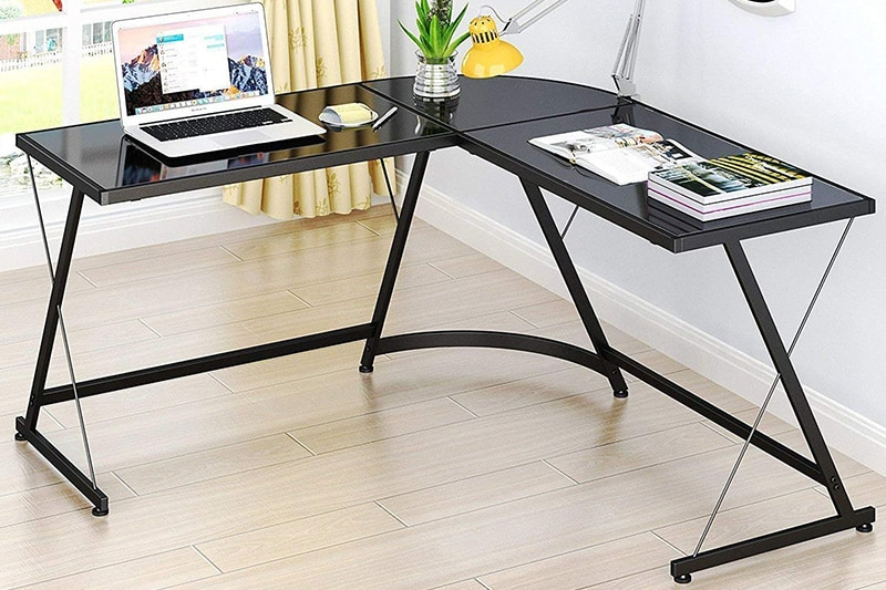 SHW L-Shaped Home Office Corner Desk Review