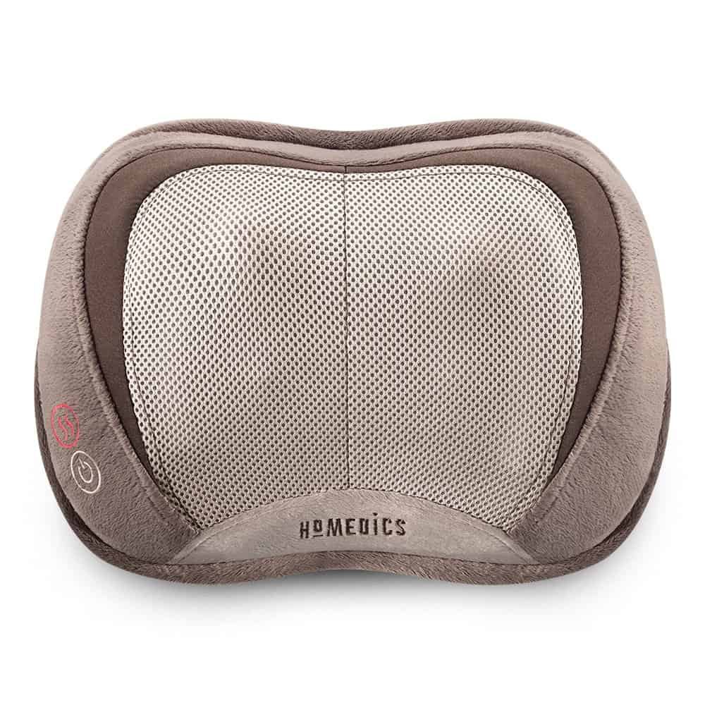 Homedics 3D Shiatsu & Vibration Massage Pillow with Heat