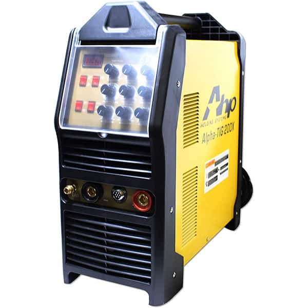 2018 AHP AlphaTIG 200X 200 Amp IGBT AC DC Tig/Stick Welder with PULSE 110v 220v