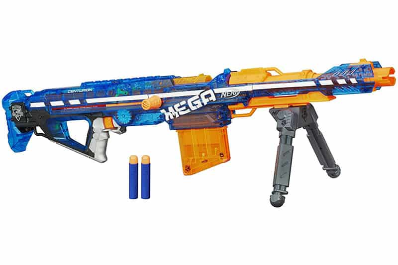 Nerf N-Strike Elite Sonic Ice Centurion Blaster Review