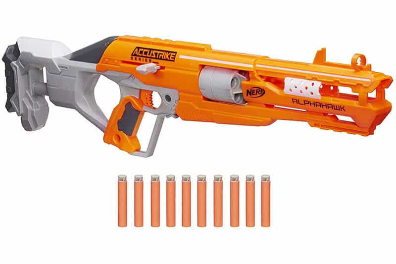 Nerf N-strike Elite Accustrike Series Alphahawk Review