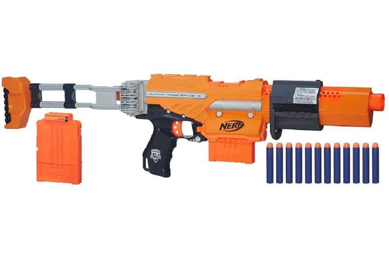 Nerf N-strike Elite Alpha Trooper CS-6 Mission Kit Review