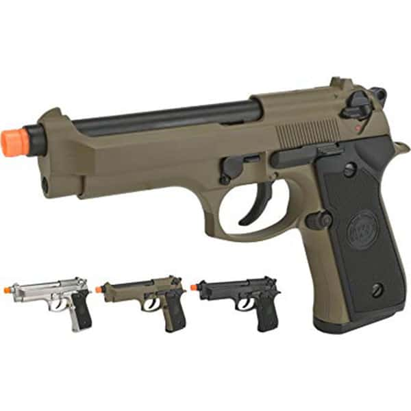 Evike WE-USA NG3 M9 GBB Professional Training Pistol