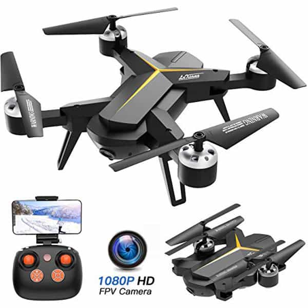 KOOME 720P HD RC Quadcopter for beginners and professionals