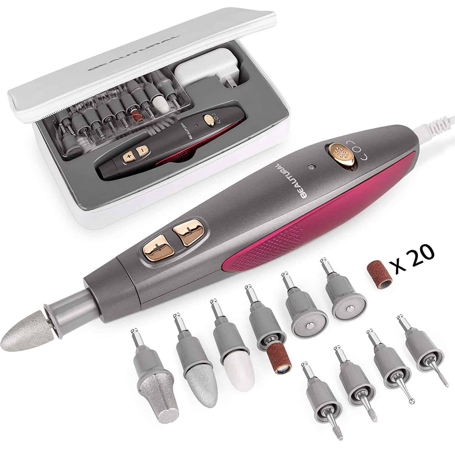 BEAUTURAL Professional Manicure and Pedicure Kit