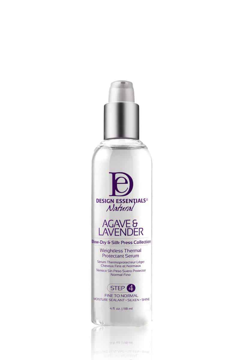 Design Essentials Natural Agave & Lavender Weightless Thermal Protectant Serum