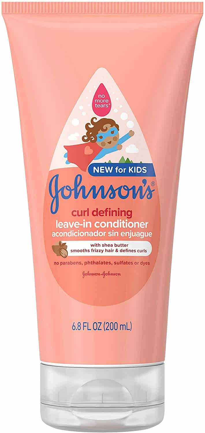 Johnson's Curl Defining Tear-Free Kids' Leave-in Conditioner