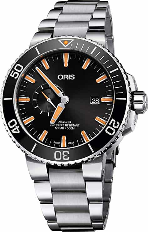 Oris Aquis Small Second Date - Best Entry
