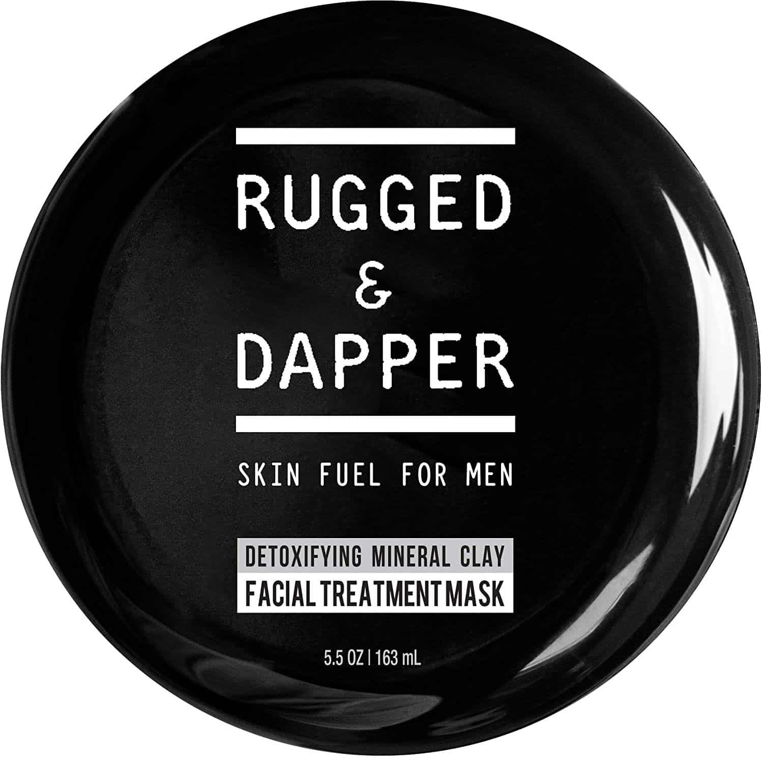 RUGGED & DAPPER Detox and Acne Face Mask for Men