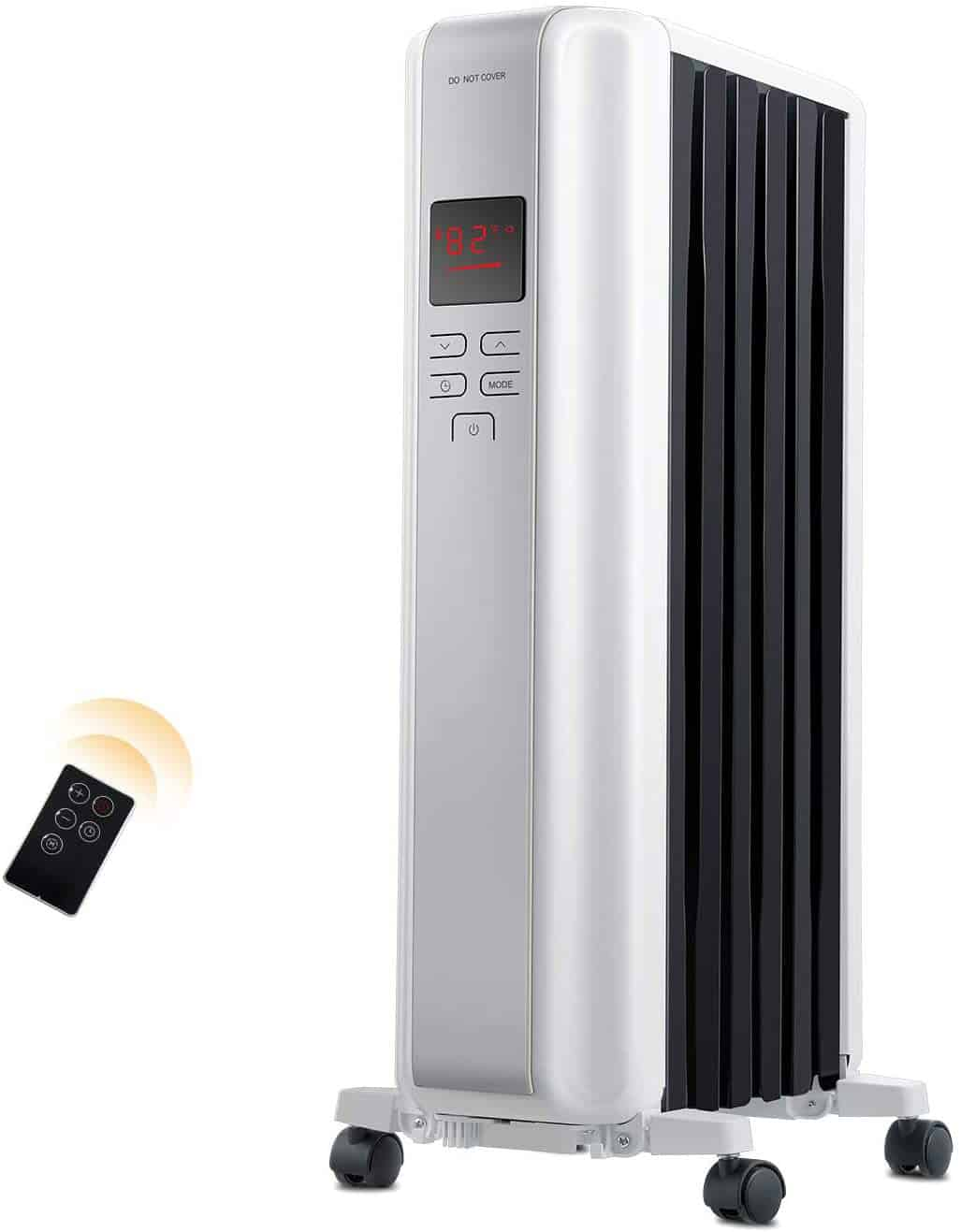 Space Heater 1500W Oil Filled Radiator